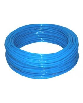 Tubo Poliuretano 4/6 mm (metro) azul