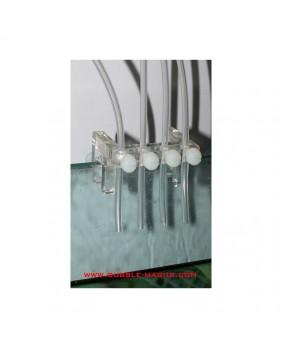Soporte tubos dosificadoras Grotech (5 canales)