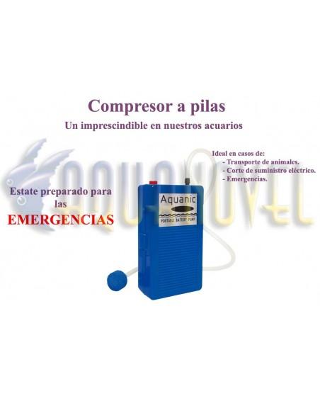 Compresor portátil (96 l/h)