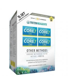 CORE 7 Reef Supplements 4x1L